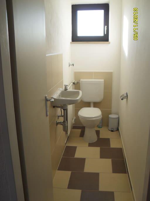 WC ist gemeinsam