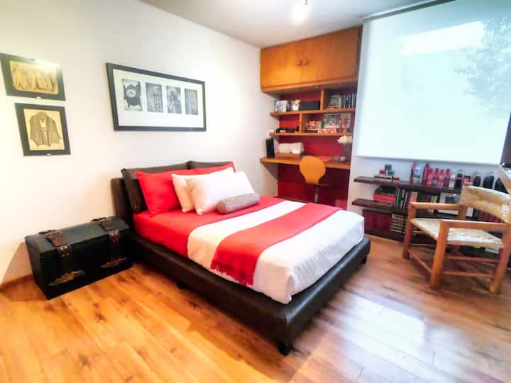 The perfect room in downtown Tlalpan