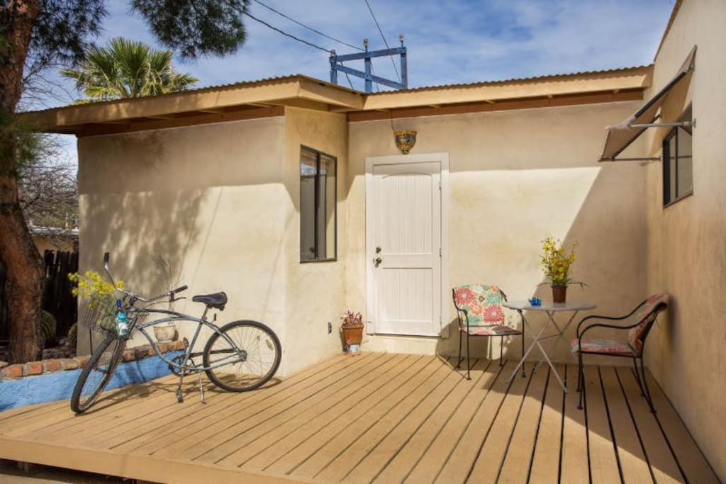 Studio 5 Blocks To 4th 7 To UA Bungalows For Rent In Tucson Arizona Unit