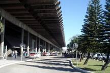 Rodoviaria Rita Maria localizada a 1,1km, 14 minutos de caminhada.