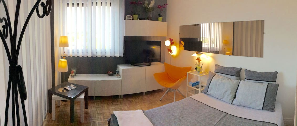 Chambre lumineuse, vue panoramique. - Antony - อพาร์ทเมนท์