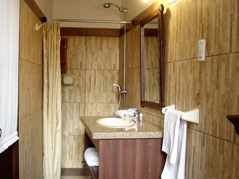 Delux ensuite bathroom