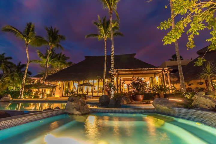 Ultra Luxury Beachfront Estate (Fully Staffed!)