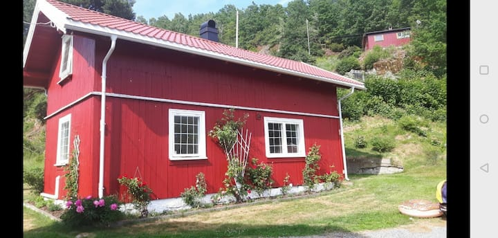 The little red House in Hyggen