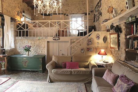"""""""Thimises"""" traditional-stone village house"""