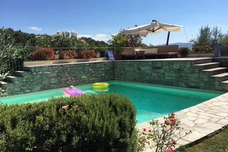 Tuscany Villa with Pool - Antria - Villa