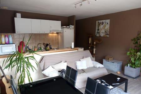 T1 50m² proche péage Grésy sur Aix (15min Annecy) - Grésy-sur-Aix - Apartment