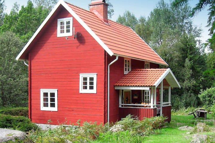 5 Personen Ferienhaus in VISSEFJÄRDA