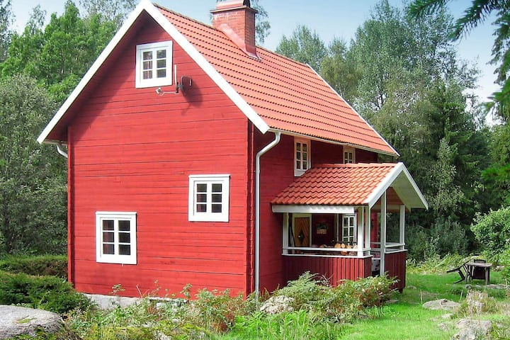 5 person holiday home in VISSEFJÄRDA
