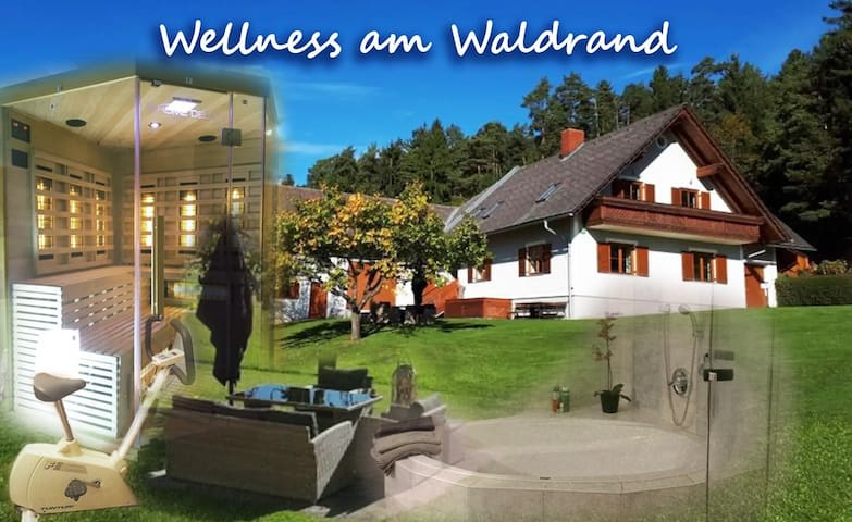 Wellness at the forest edge, enjoy peace near Graz