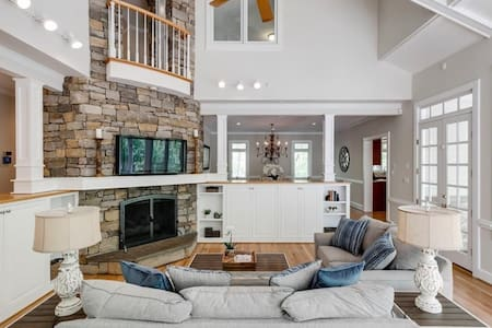 Luxury Wooded Haven with Pool, Hot Tub, & Trails