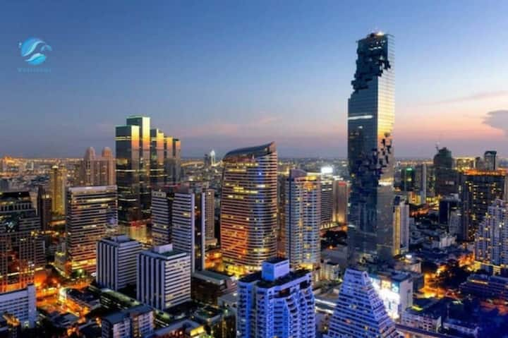 Sathon New Luxury apt&Chong Nonsi&Skypool&Gym no.2