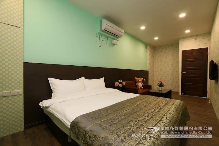 冬山平價溫馨住宿,雙人雅房3F(可加床) - Dongshan Township - Dům
