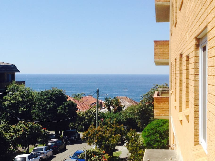 View from the balcony.