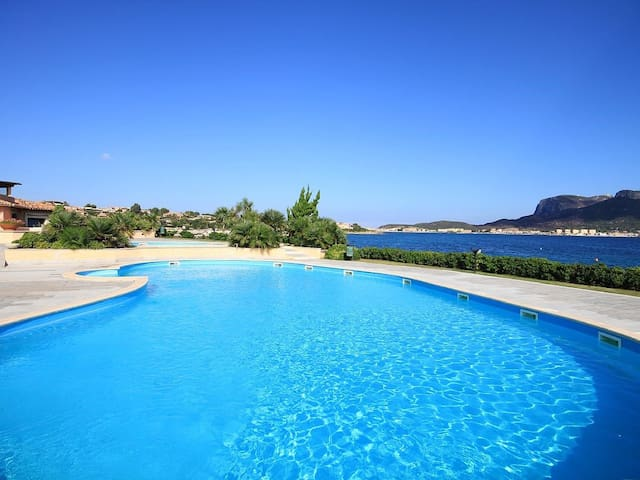 Bright apartment in luxury residence [pool+wifi] - Golfo Aranci - Apartamento