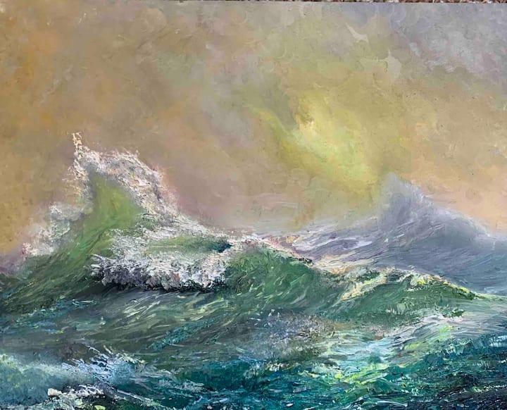 Art Class on Maui (Paint Together at Kihei) $150
