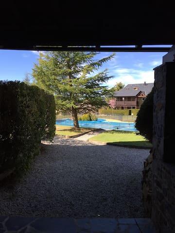 Precioso apartamento en la cerdaña zona Puigcerdà. - Bourg-Madame - Apartemen