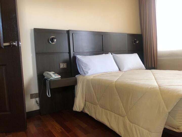 Apartamentos con baño privado.