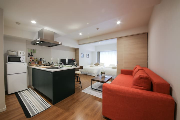 ☆New Construction★Ueno Sta.3min/Free Wi-Fi&Phone - Taito-ku - Apartment