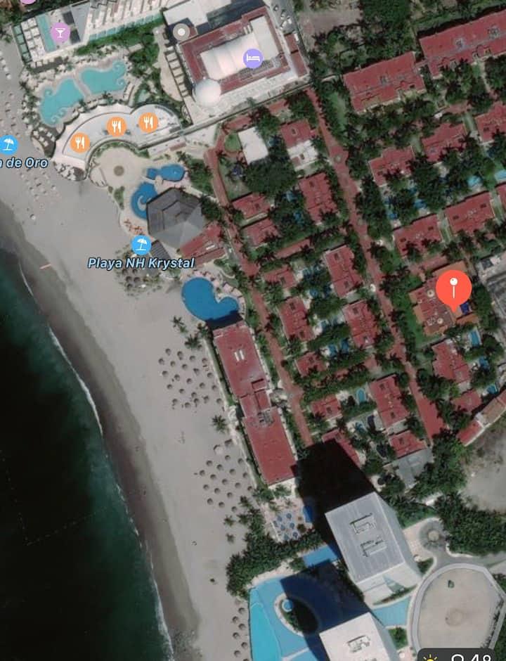 Elegant Villa in Beachfront Resort