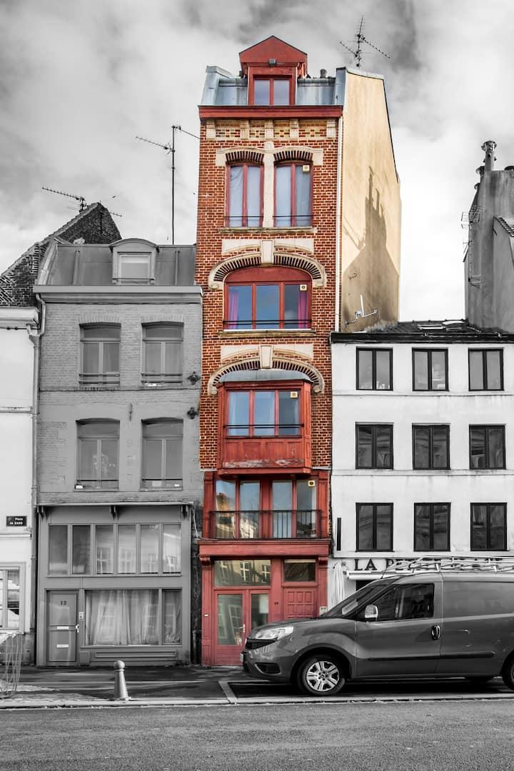 Pied à terre au coeur du Vieux-Lille