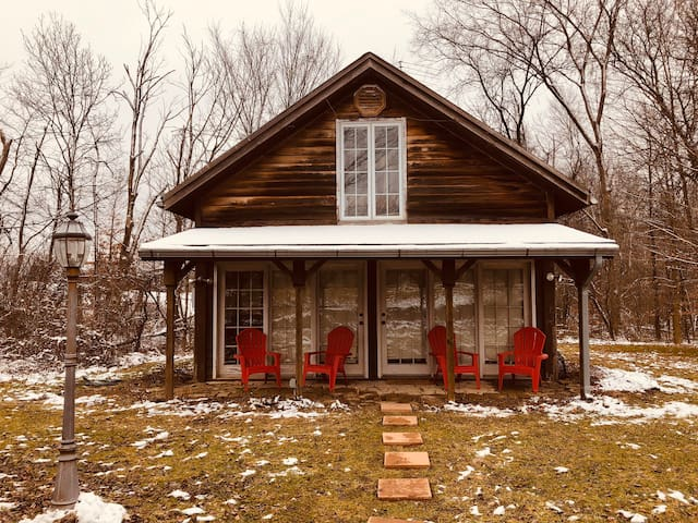 Cozy Cabin in woods by Mid Ohio Raceway Lexington