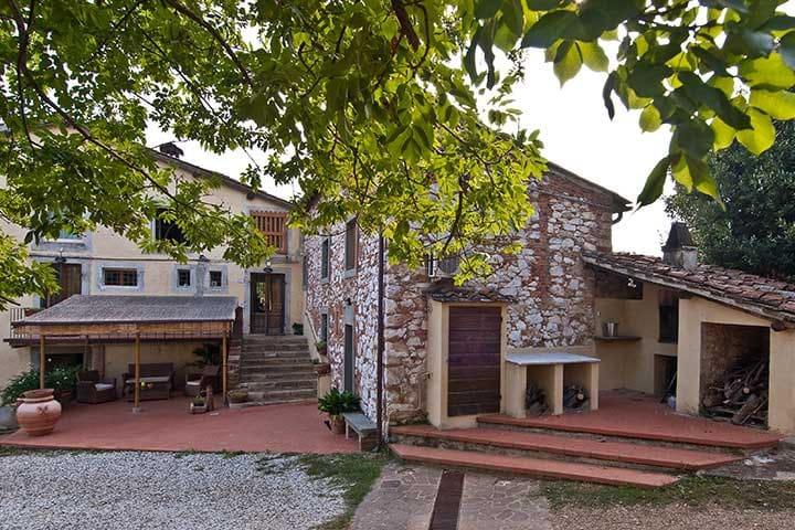 Bo på Vingård, 5 minuter från Lucca