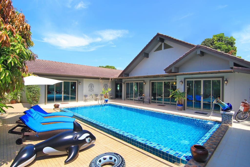 Pool View Private 3 bedroom Pool Villa