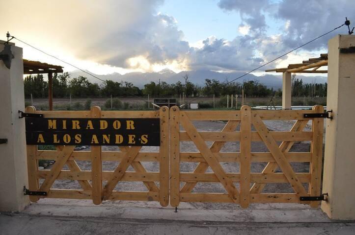 Barreal - Mirador a los Andes