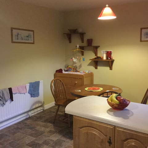 Double room in young family's home