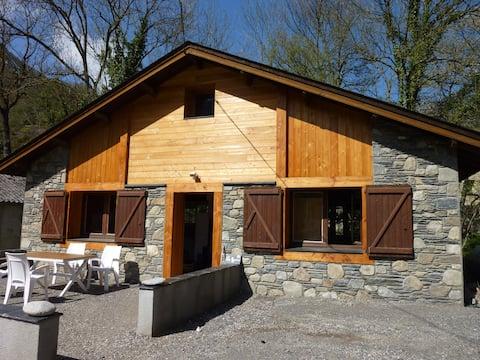 Chalet Fario, bain norvégien, sauna