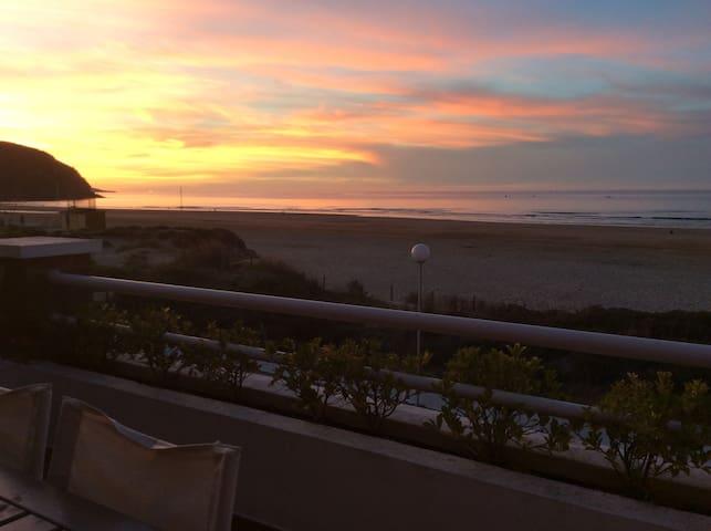 Berria Playa duplex . La casa Rosa.