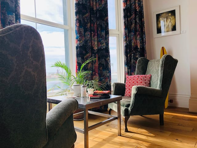 Hastings Seaview Apartment Opposite The Beach