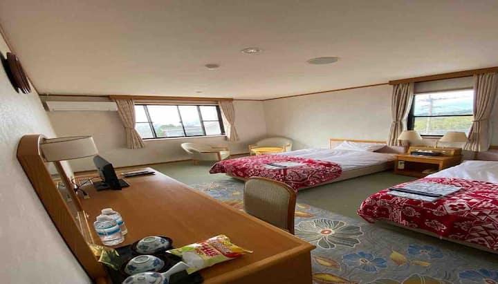 霧島 温泉民泊 静かな部屋で深く眠ります  201号室