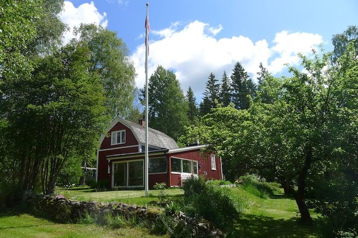 Classical Swedish cottage in Värmland