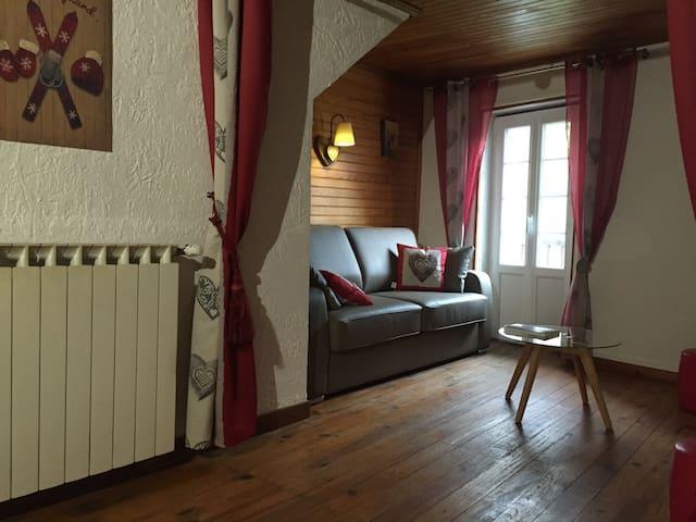 Charmant 3 pièces cœur du village - Saint-Martin-Vésubie - Apartment