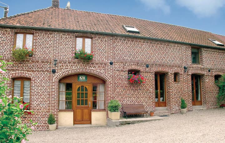 Nice home in Caumont with WiFi and 4 Bedrooms