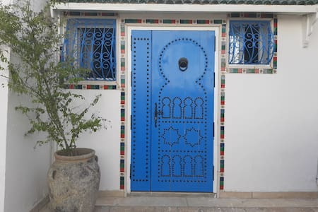 Modern Studio with a Tunisian Touch