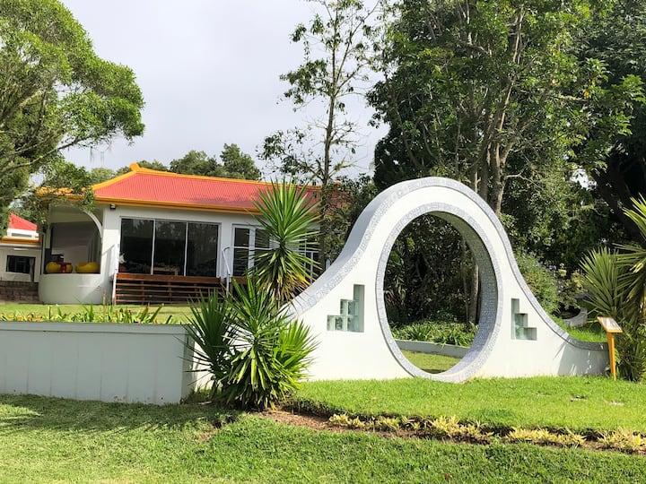 Tranquil Asia Garden  -  Love house