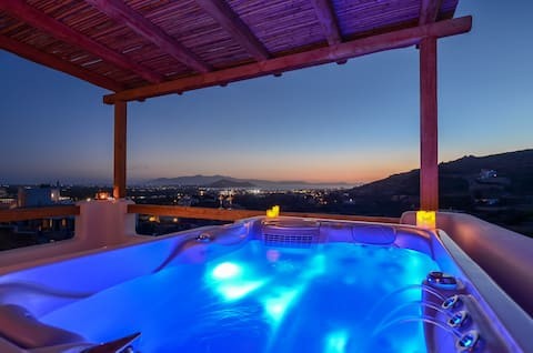 Naxos Pantheon - ARIADNE with private Jacuzzi