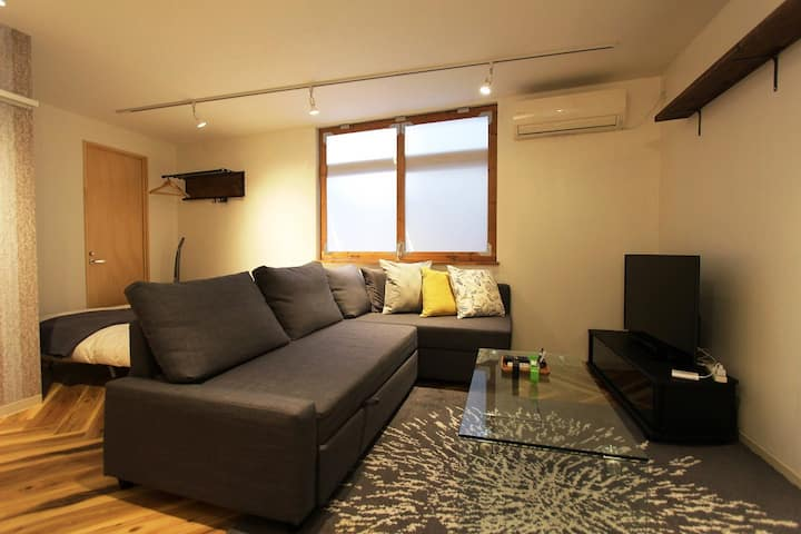 ③5min Juso Sta/3min Umeda/FreeWiFi/fully renovated