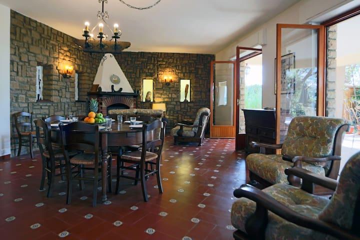Villa degli Ulivi - Garden apartment - WiFi - Massa Marittima - Casa