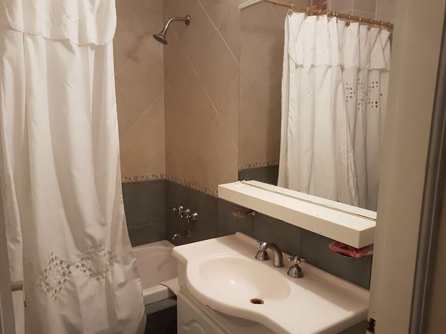 Baño en suite con hidromasaje