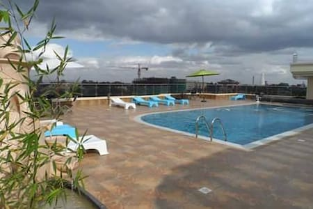 Luxuriously comfortable en suite room in Kilimani - Nairobi - Lakás