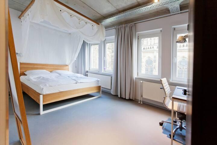Green Residence Design Loft Comfort