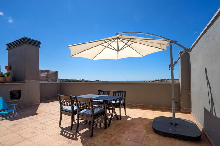 Sea view NEW, cozy apartment in Costa Brava - Sant Feliu de Guíxols - Apartment
