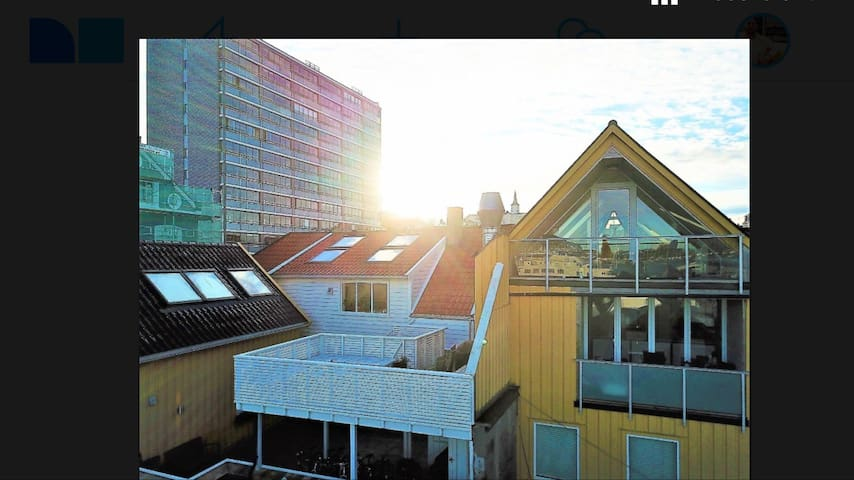 Beautiful penthouse in the heart of Stavanger