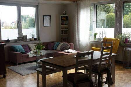 Großzügige Wohnung, sehr zentral - Butzbach - 公寓