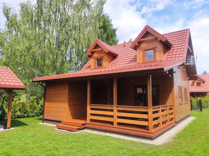 Pasym - dom nad jeziorem Kalwa