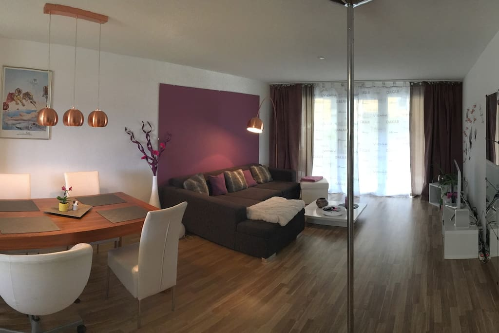 Spacious 75m home with big terrace apartamentos en for Terrace zurich